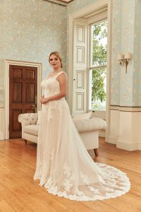 Romantica Silhouette Demelza Wedding Dress, The Bridal Affair featuring Curvy Bridal