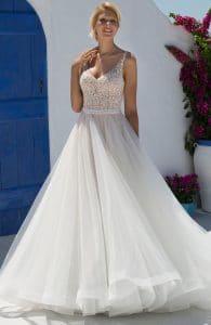 Mark Lesley 7251 Wedding Dress at The Bridal Affair Featuring Curvy Bridal