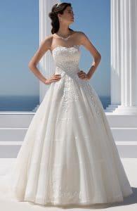 Mark Lesley 7303 Wedding Dress at The Bridal Affair Featuring Curvy Bridal