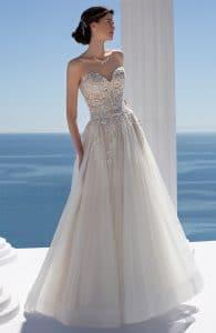 Mark Lesley 7311 Wedding Dress at The Bridal Affair Featuring Curvy Bridal