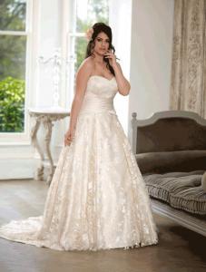 Sonsie by Veromia SON91619 Wedding Dress