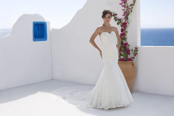 Mark Lesley 7195 wedding dress