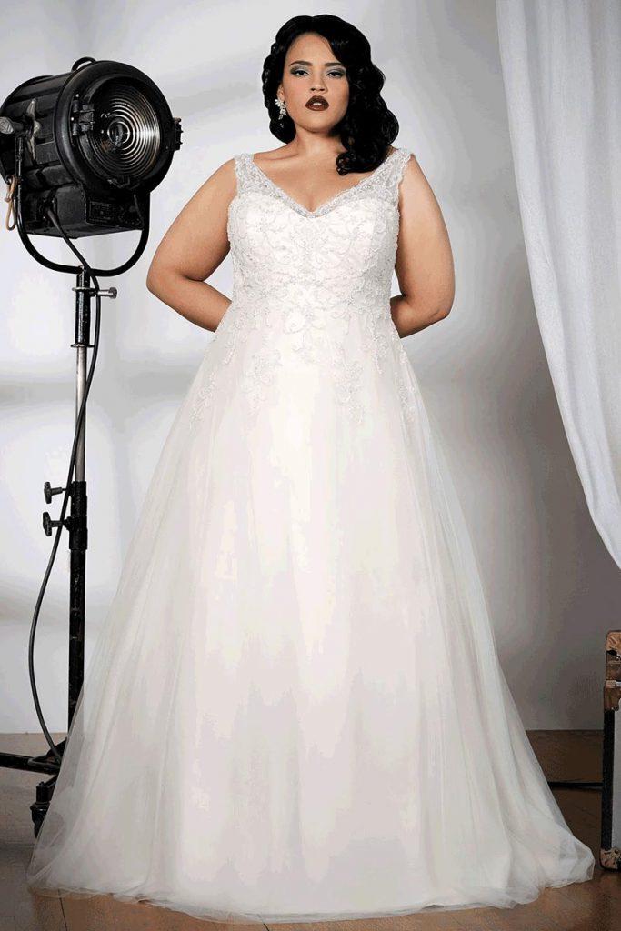 Sonsie 91502 plus size bridal