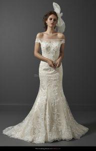 Olivia Grace Merlot Discounted Wedding Dress Size 12