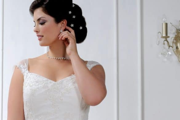plus size bridal, Sonsie by Veromia, The Bridal Affair featuring Curvy Bridal