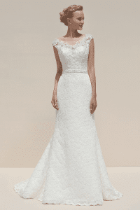 Mark Lesley 7075 Discounted Wedding Dress