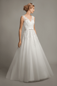 Mark Lesley 7145 Discounted Wedding Dress
