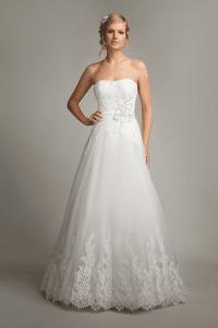 Mark Lesley 7158 Discounted Wedding Dress