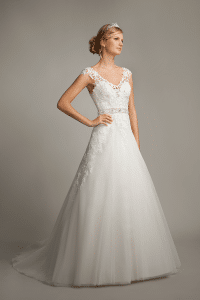 Mark Lesley 7161 Discounted Wedding Dress