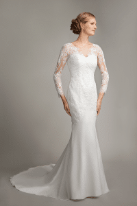 Mark Lesley 7177 Discounted Wedding Dress