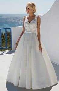 Mark Lesley 7259 Discounted Wedding Dress