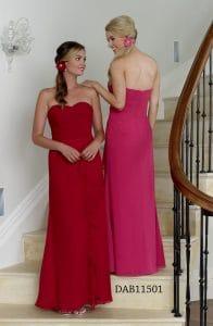 D'Zage DAB11501 Bridesmaids Dress