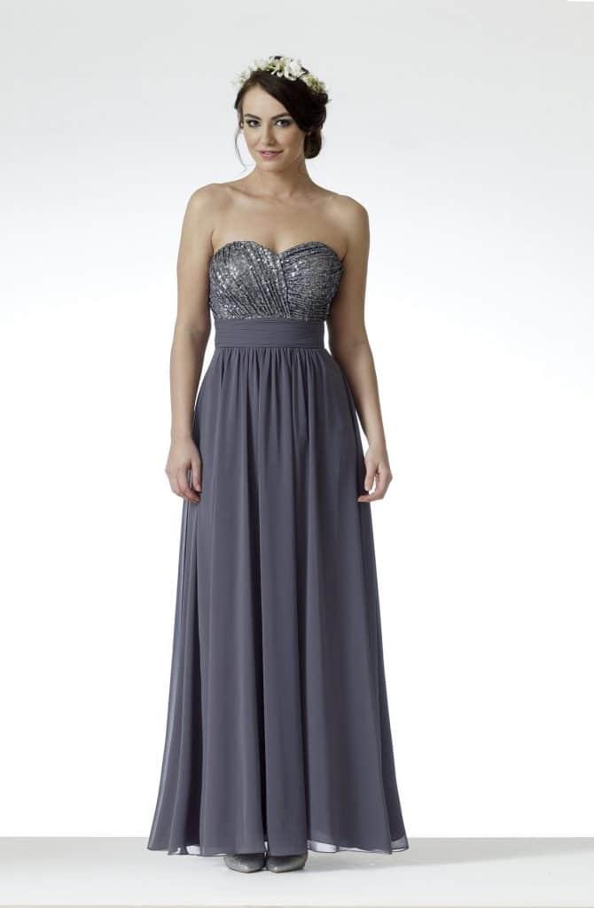 D'Zage DAB11704 Bridesmaids Dress