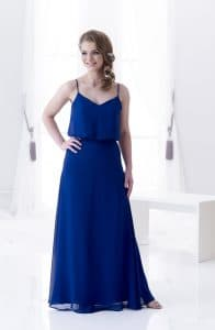 D'Zage DAB11805 Bridesmaids Dress