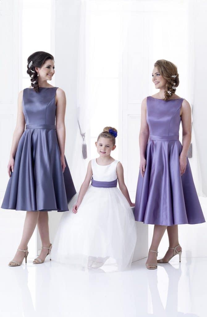D'Zage DAB11808 and DAB11802 Bridesmaids Dress