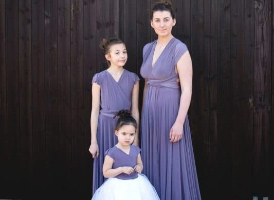 OnlyWay multi way bridesmaids dress 68