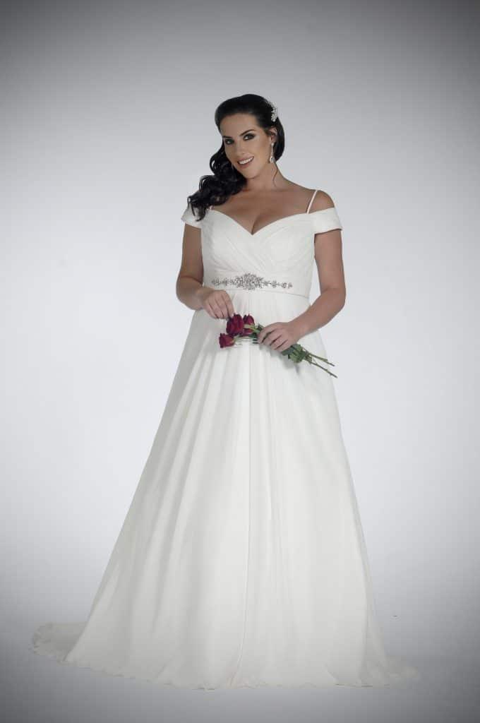 Sonsie by Veromia SON91801 Wedding Dress