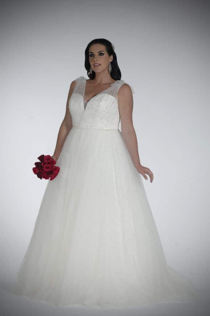 Sonsie by Veromia SON91851 Wedding Dress