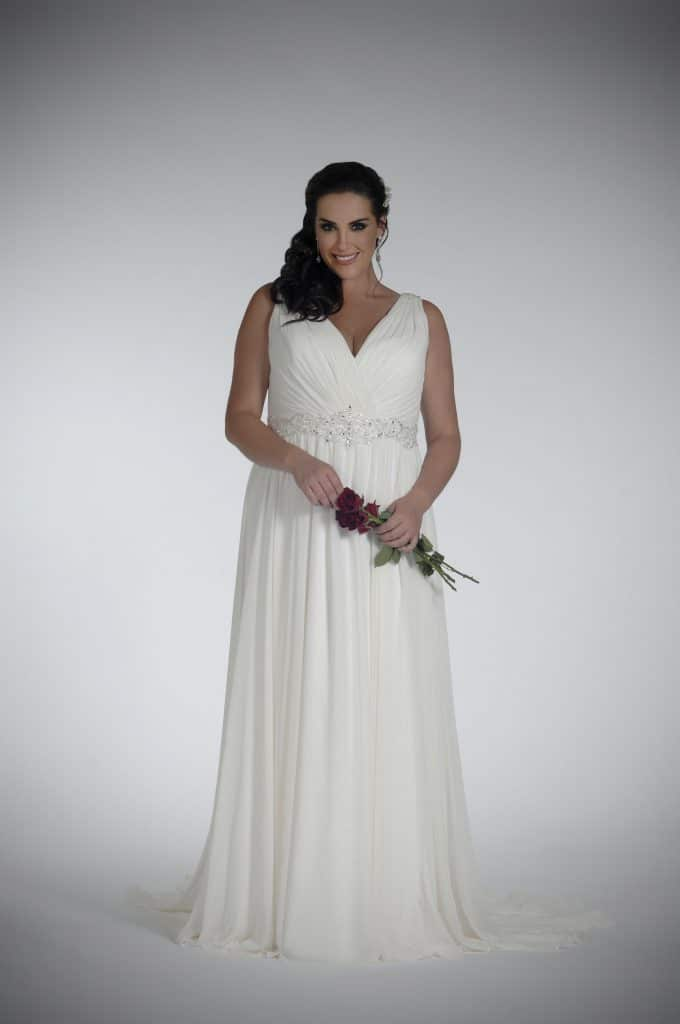 Sonsie by Veromia SON91857 Wedding Dress