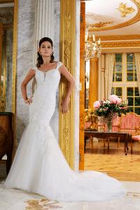 Veromia 61552 Discounted Wedding Dress Size 16