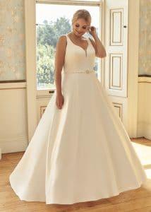 Romantica Silhouette Bonita Wedding Dress, The Bridal Affair featuring Curvy Bridal