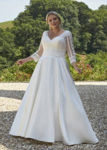 Romantica Silhouette Abigayle, The Bridal Affair featuring Curvy Bridal