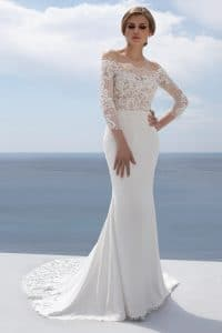 Mark Lesley 7351 Wedding Dress at The Bridal Affair Featuring Curvy Bridal