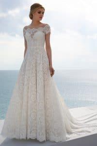 Mark Lesley 7412 Wedding Dress at The Bridal Affair Featuring Curvy Bridal