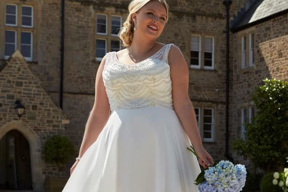 plus size bridal, Romantica Silhouette, The Bridal Affair featuring Curvy Bridal