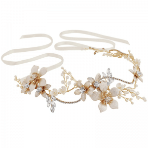 Athena Bridal Jewellery 1605 EXQUISITE ROMANCE VINE - BLUSH PINK
