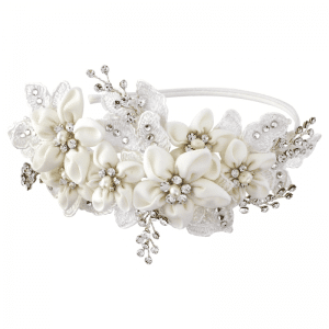 Grace Headband wedding hair
