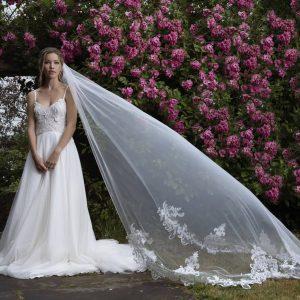 Joyce Jackson Wedding Veils Candytuft Single Tier Veil