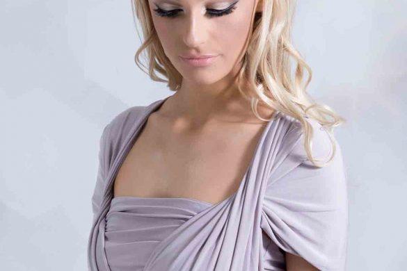 Victoria Kay Bridesmaids wrap dress