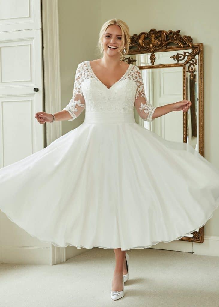 plus size bridal, Romantica Silhouette, The Bridal Affair featuring Curvy Bridal