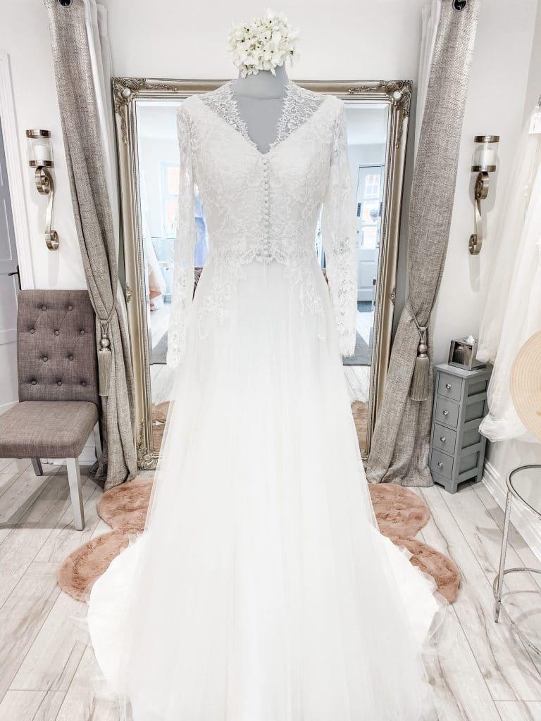 Mark Lesley wedding dresses, Mark Lesley, The Bridal Affair featuring Curvy Bridal