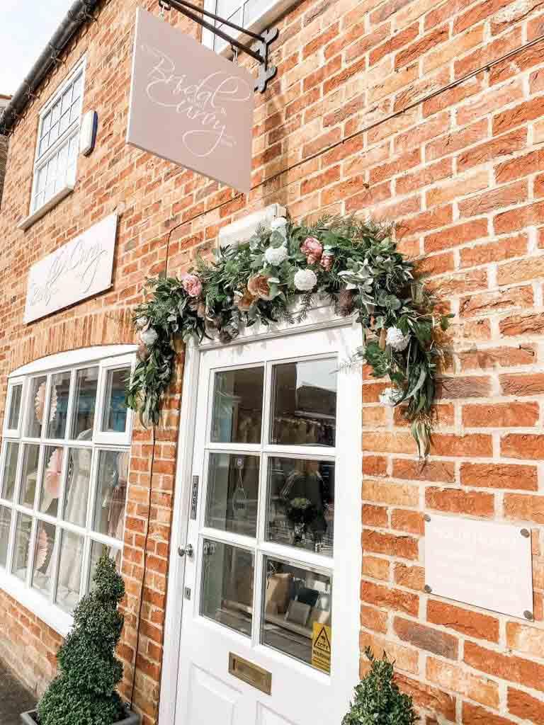 The Bridal Affair Front Door