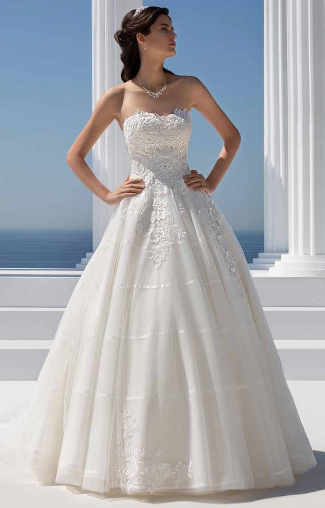 Mark Lesley 7303 Wedding Dress