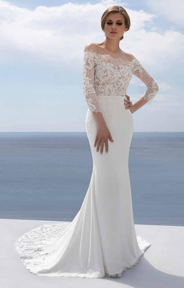 Mark Lesley 7351 Wedding Dress