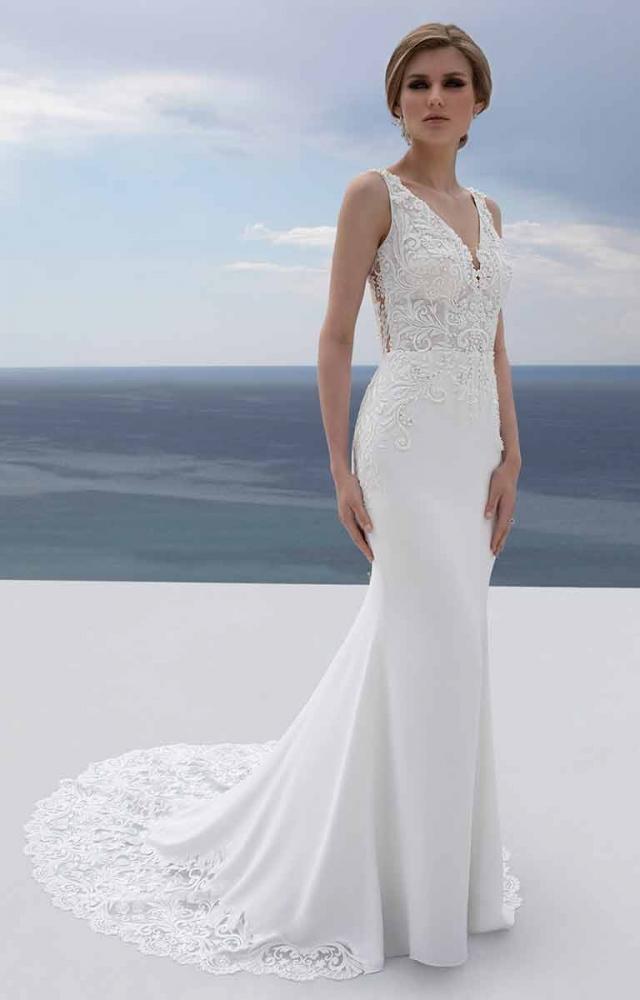 Mark Lesley 7352 Wedding Dress