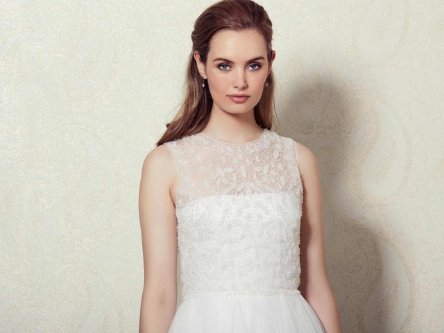 Lilly Bridal 01-3806 Beaded Top