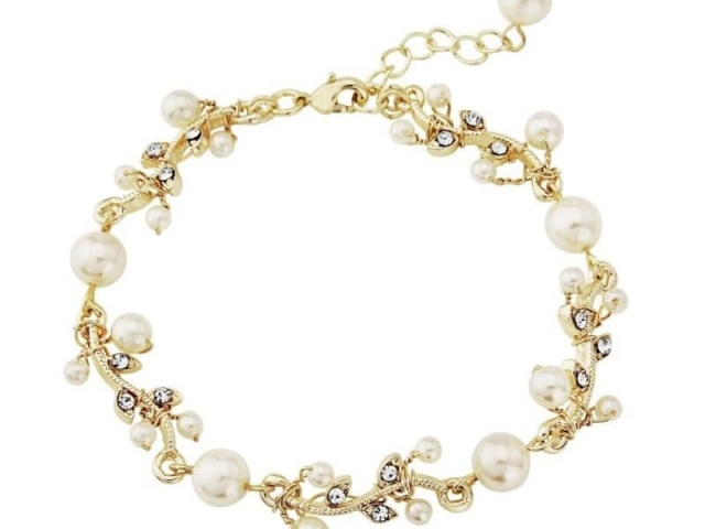 Athena Bridal Jewellery Bracelets 1058 Golden Starlet Bracelet