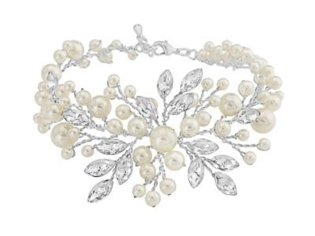 Athena Bridal Jewellery Bracelets 1140 Devine pearl bracelet