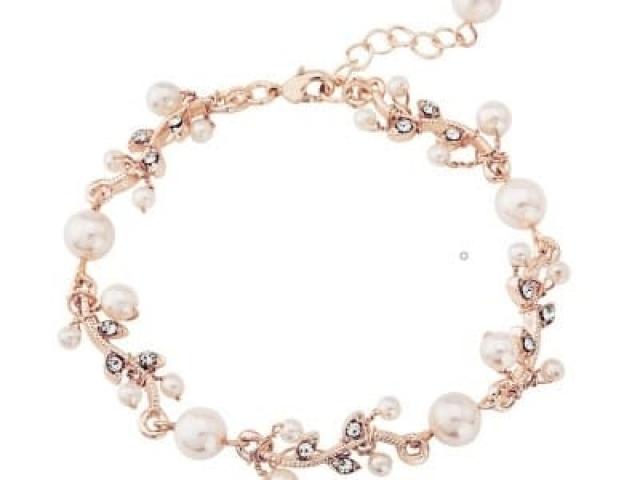 Athena Bridal Jewellery Bracelets 1058 Rose Gold Starlet Bracelet