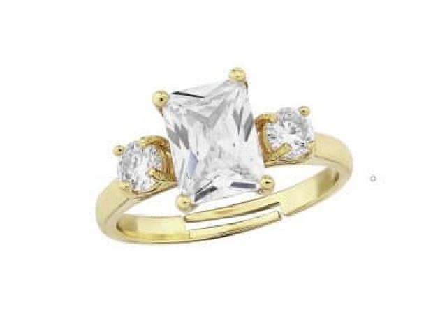 Athena Bridal Jewellery Ring 1584 Meghan adjustable ring gold