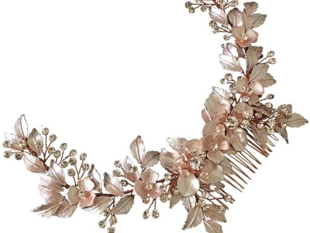 Athena Bridal Jewellery 2007 Floral extravagance headpiece