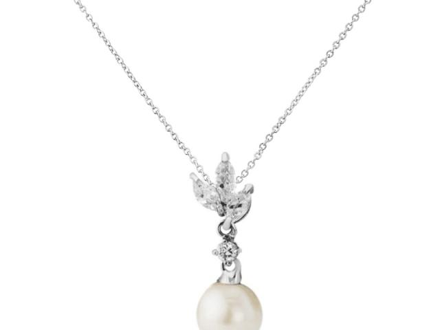 Athena Bridal Jewellery 2017 Vintage Chic Necklace Silver
