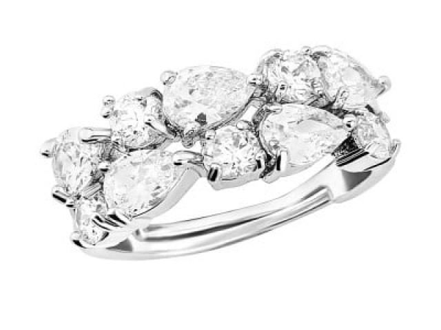 Athena Bridal Jewellery Ring 4013 vintage bejewelled ring