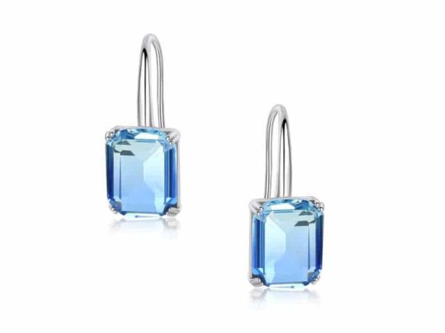 Athena Bridal Jewellery Earrings 2019 Blue Starlet Earrings