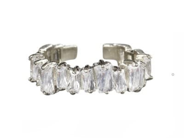 Athena Bridal Jewellery Ring 7252 Divine crystal ring silver