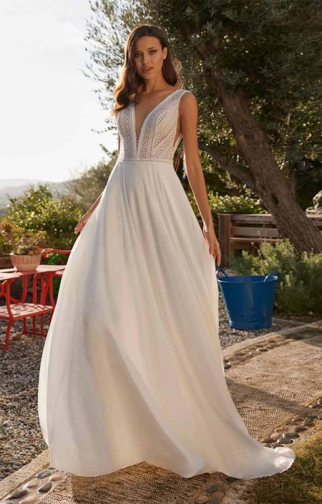 Herve Paris Bridal Ariane Wedding Dress